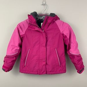 Lands' End The Squall winter jacket- pink